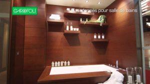 Coordonnées pour salle de bain